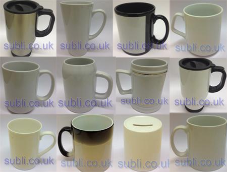 blank dye sublimation mugs