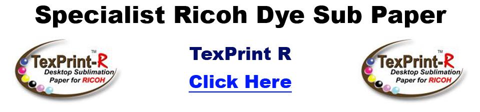 specialist ricoh dye sublimation paper