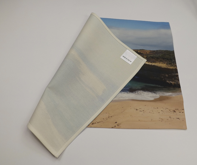 Blank Towel: Sublimation Cotton Blank Tea Towels. Small