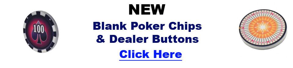 Blank Poker Chips.