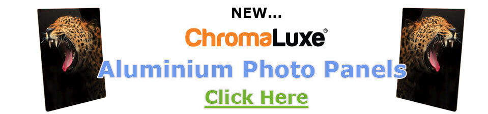 Chromaluxe Aluminium Photo Panels for Dye Sublimation.