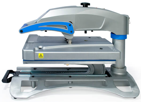 Completely Threadable Heat Press.