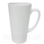 Latte Shaped Ceramic Mugs