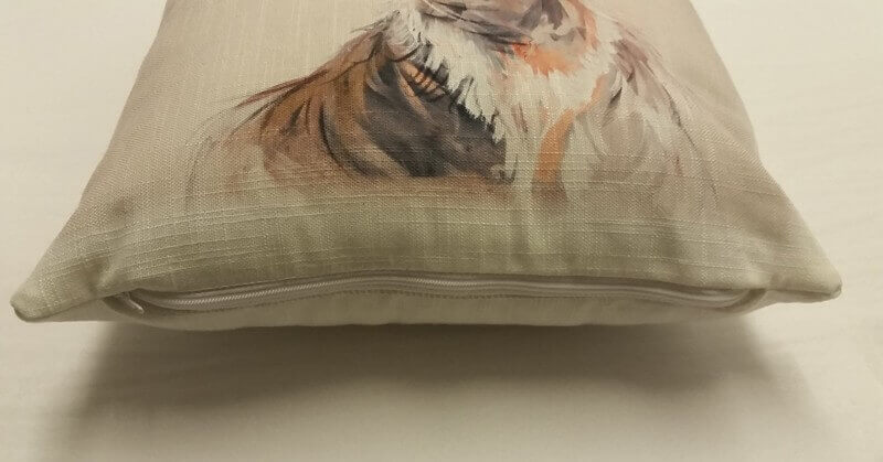 Linen look sublimation blank cushion cover