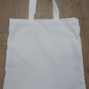 UK Made Tote Bags White Handles.