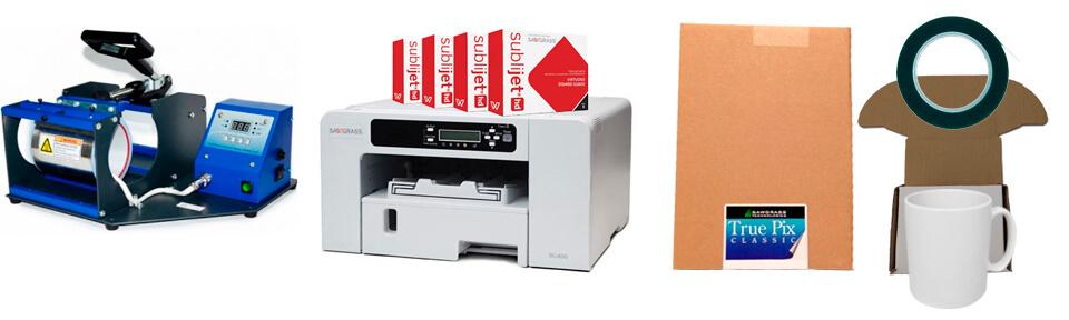 Sawgrass Virtuoso Sublimation Mug Printing Package